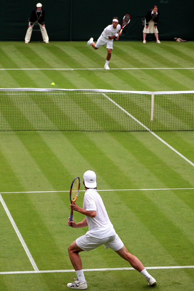 essay on lawn tennis