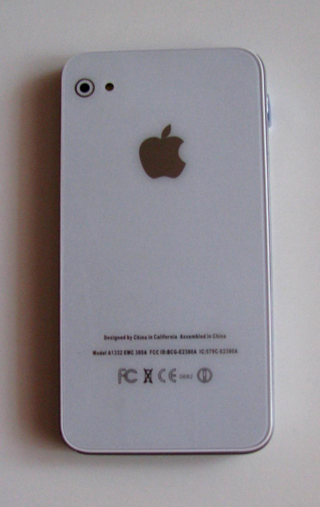 apple iphone model a1332 emc 380a manual