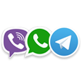 �������� «��������» ������������� �������� � ������������ Viber, Telegram � WhatsApp